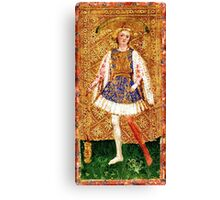 Medieval Page boy Canvas Print