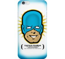 Captain RibMan - Face iPhone Case/Skin