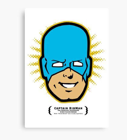 Captain RibMan - Face Canvas Print