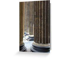 colonnade  Greeting Card