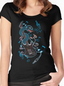 6 Strings of Venom! Women's Fitted Scoop T-Shirt