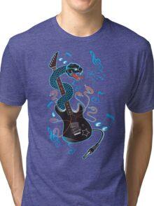 6 Strings of Venom! Tri-blend T-Shirt