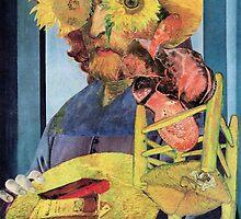 Portrait of Van Gogh 7. by - nawroski -