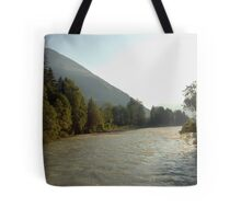The mighty river Lech Tote Bag