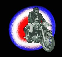 Billy Fury biker by Matterotica