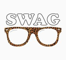 Swag leopard glasses by WAMTEES