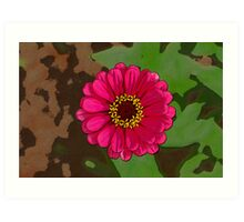 Flower within a Flower Art Print