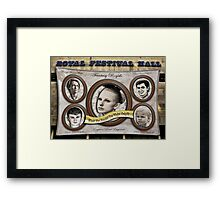 Reality TV with Broke Royalty Framed Print