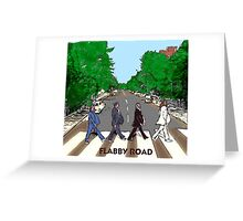 Flabby Road Greeting Card