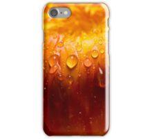 Raindrops on Straw flower iPhone Case/Skin