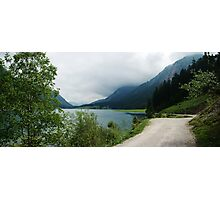 Quiet walk along the lake... Panorama Photographic Print