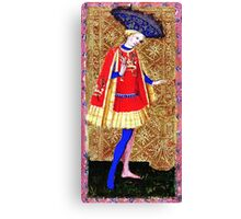 Medieval Spanish Page Boy Canvas Print