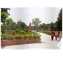 People inside Jallianwala Bagh Poster
