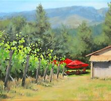 Delfino Vineyard by Karen Ilari