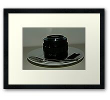 Anyone for T? Framed Print