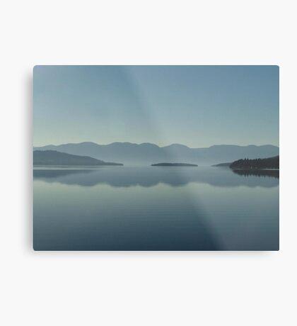 MAGIC MORNING ON FLATHEAD LAKE, MT Metal Print