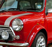 Classic Mini Cooper iPhone cover by Martyn Franklin