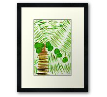 The Palm Framed Print
