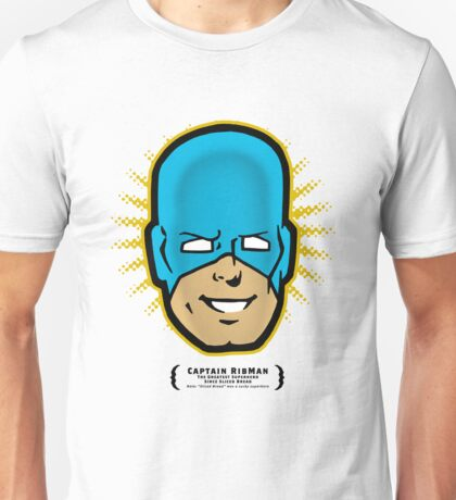 Captain RibMan - Face Unisex T-Shirt