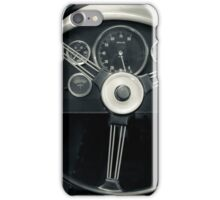 Retro car dashboard for your iPhone iPhone Case/Skin