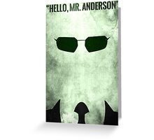 Hello Greeting Card