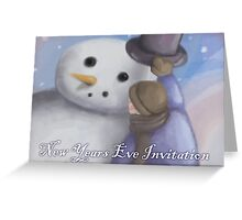 Holiday Invitation  Greeting Card