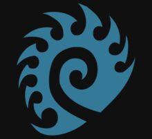 Teal Zerg Insignia by Blazixe