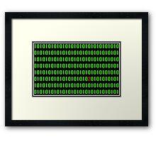 Digital nightmare Framed Print