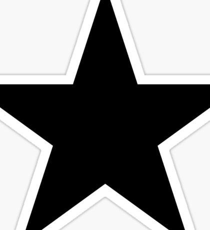 BLACK Star, Dark Star, Black Hole, Stellar, Achievement, Cool, Sticker