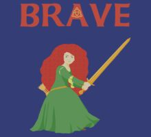 Brave Merida by Alex Kittle