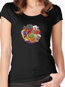 Of Montreal Album Art Women's Fitted Scoop T-Shirt