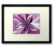 For You Violet Framed Print