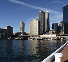 Bathed in Winter Sun * Circular Quay by Gary Kelly