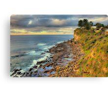 Location Location - Avalon Headland , Sydney - The HDR Experience Canvas Print