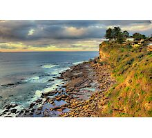 Location Location - Avalon Headland , Sydney - The HDR Experience Photographic Print
