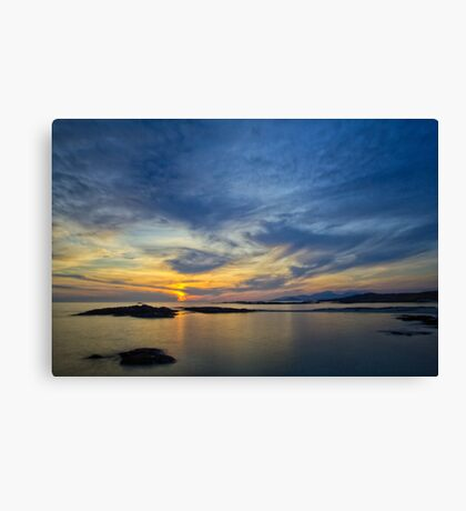 Sanna Bay Sunset Canvas Print
