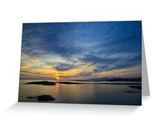 Sanna Bay Sunset Greeting Card