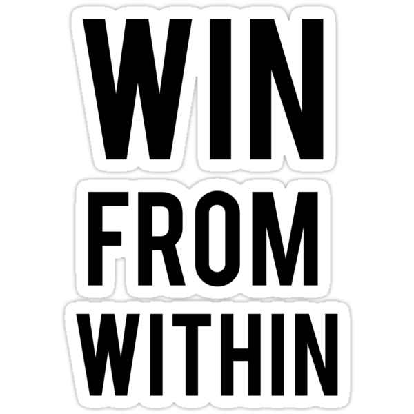 WIN FROM WITHIN by LewisJamesMuzzy