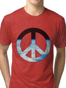 Peace - space. Tri-blend T-Shirt