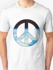 Peace - space. Unisex T-Shirt