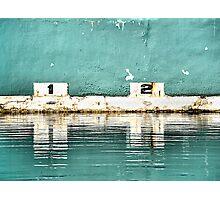Newcastle Baths - Newcastle NSW Australia Photographic Print