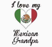 I Love My Mexican Grandpa One Piece - Long Sleeve