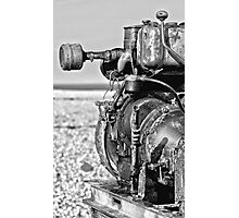 Old Motor Photographic Print