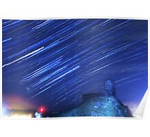 Brentor Church Star Trails Poster