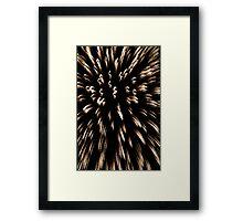 """Big Bang"" . . _ . Foks-Trot Framed Print"