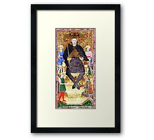 Medieval King Framed Print