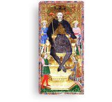 Medieval King Canvas Print