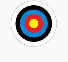 Bulls Eye, Archery, Target, Roundel, Shooting, Hit, Mod, on White Unisex T-Shirt