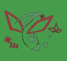 Pokemon 330 Flygon by methuselah
