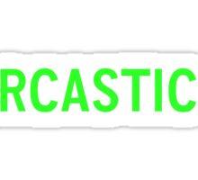 Sarcastic PC (Fallout 4) Sticker